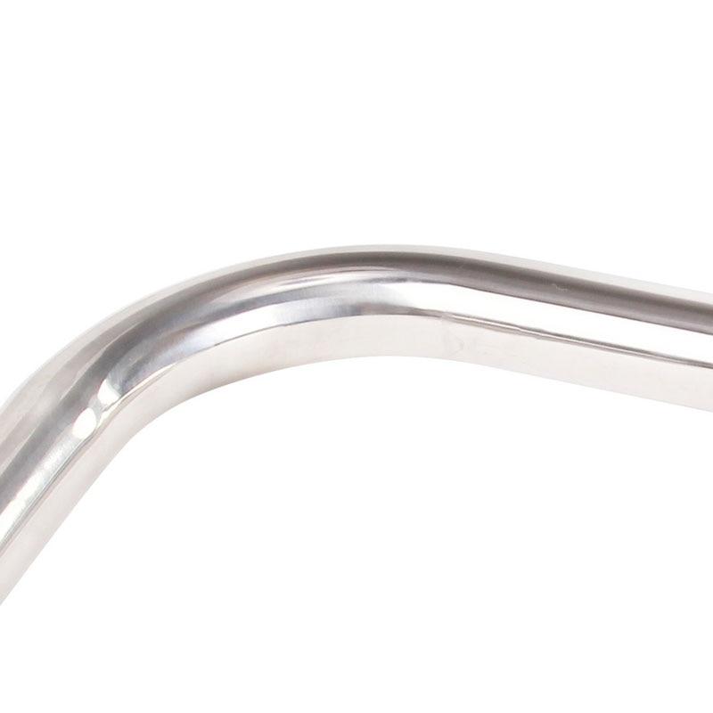 2016 Yeni Gəliş 25.4mm * 22.2mm * 470mm Velosiped Sükan Gümüşü - Velosiped sürün - Fotoqrafiya 5