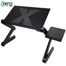 New 360 Degree Rotation Multifunctional Laptop Table Adjustable Foldable Notebook PC Desk High Quality Portable  PC Desk hot