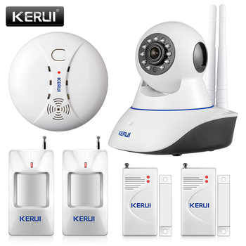 KERUI 720P Security Network WIFI IP camera 1.0MP HD Wireless Digital Home Security camera IR Infrared Night Vision Alarm System - DISCOUNT ITEM  19% OFF All Category