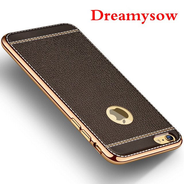 212d04aaa77 BLACK apple coque For iphone 8 Plus X XS XSmax XR Luxury Plating Soft  Silicon Case