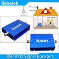 1 pcs x caixa Do telefone Móvel 3G GSM/CDMA 850 Mhz 17dBm 850 MHz Repetidor Impulsionador do telefone Celular Móvel Repetidor de sinal Amplificador Repetidor