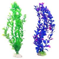 Aquarium Decoration Coral Ornaments Water Plants Plastic Simulation