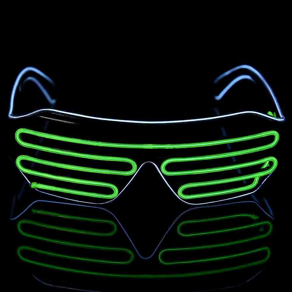 2ba25f88e7 ... Led Glasses For Parties Light Up Shades Luminous Party Led Neon Glow  Glasses Flashing Sunglasses New