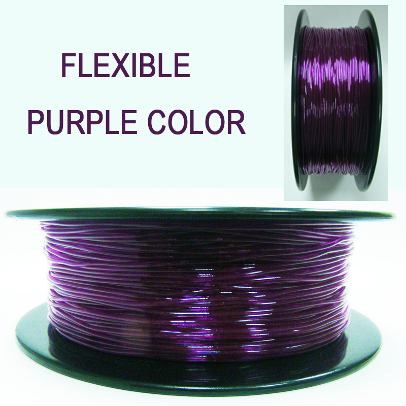 TPU 3D Filament Flexible Soft 3D Printing material Filament flex  1 75mm caneta diferente Printer Modeling shimano scorpio spool