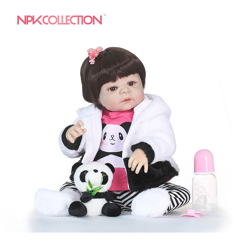 NPKCOLLECTION Realistic Girl Bonecas Reborn Babies Dolls For Sale Full Silicone Vinyl Baby Doll Toys Lifelike