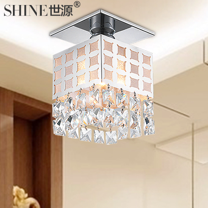 The LED light source of modern fashion ceiling lamps  crystal lamps lighting living room balcony corridor lights 9058|Ceiling Lights| |  - title=