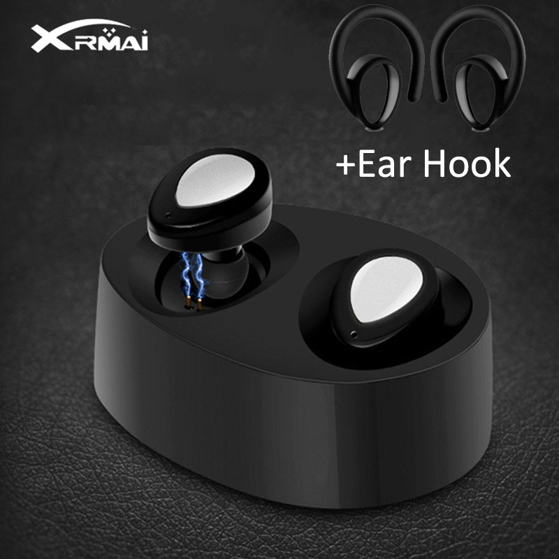 Xrmai K2 TWS Wireless Bluetooth Earphones Stereo Binaural Sport Earbuds In Ear Earphone Built in Microphone