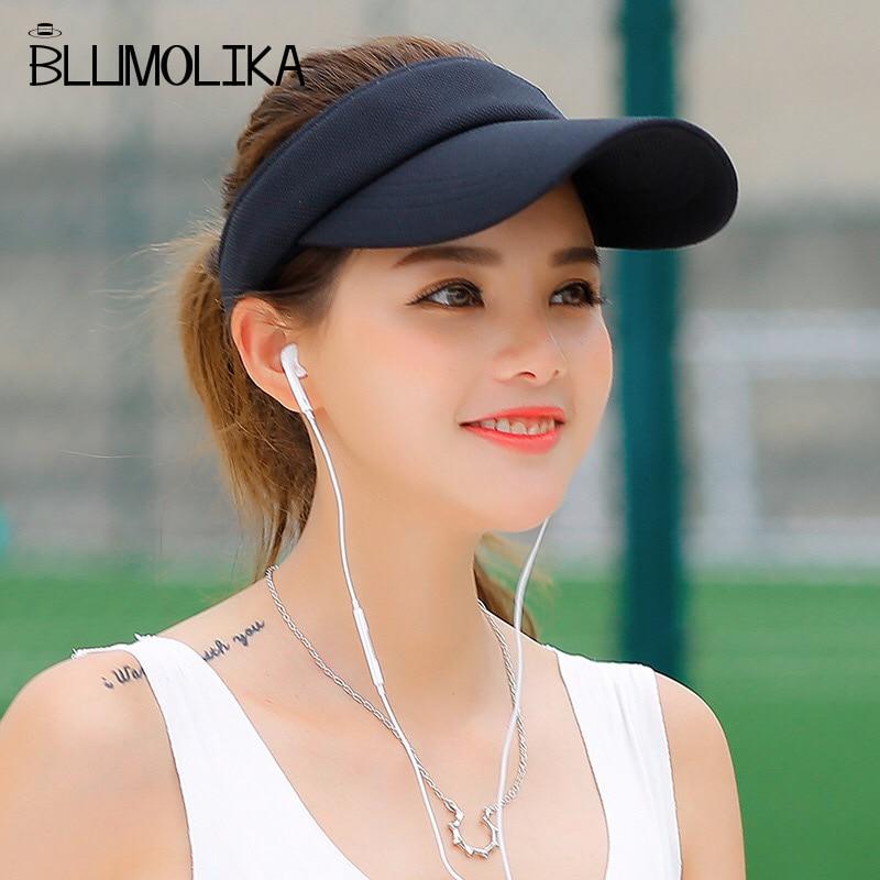 Hot Selling New Tennis Caps Stylish Women Men Unisex Beach Sports Sun Visor Hat Golf Caps Summer Travel Sun Hat Outdoor On Sale