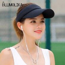 Hot Selling New Tennis Caps Stylish Women Men Unisex Beach Sports Sun Visor Hat Golf Summer Travel Outdoor On Sale