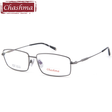 Chashma Gentlemen Pure Titanium Eyeglasses Frame Brand Design Lenses Optics Quality Frames Male Spectacles