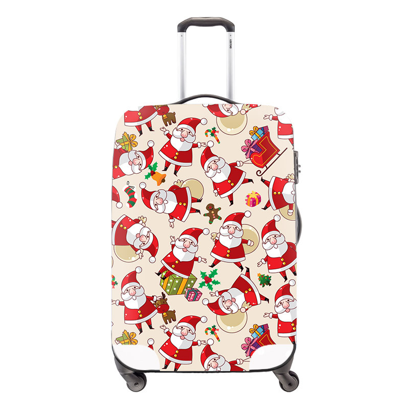 5 Animal Cute Cat Mouse Printing Luggage Protective Cover for 18-30 Inch Suitcase Stretch Luggage Case Cover Elastic Suicase Cover