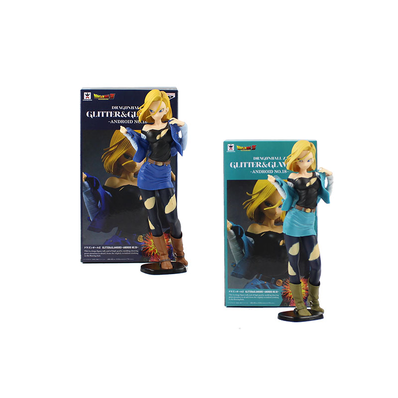 24cm Android <font><b>18</b></font> lazuli action pvc figure model toy Dragon Ball Z Super Saiyan <font><b>Hot</b></font> <font><b>sexy</b></font> open clothes beautiful <font><b>girl</b></font> image