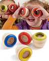 Wooden Creative Educational Magic Kaleidoscope Baby Kid Children Learning Puzzle Toy