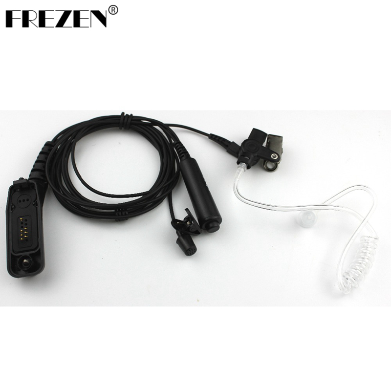 Headset Acoustic Air Tube Earpiece Earphone PTT For Motorola XIR-P8260/8200/8268 XPR6000 Two Way Radio
