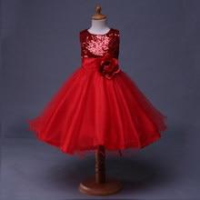 Girls Dresses Flower Dress For Girl Red Wedding Princess Dress Baby Flower  Girl Dress GD31126-1 5f2c0ea75eb2