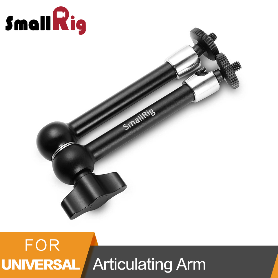 SmallRig 11 inch Articulating Rosette Arm 1/4 Threaded Screw For Universal DSLR Camera To Mount Cage Monitor -2066