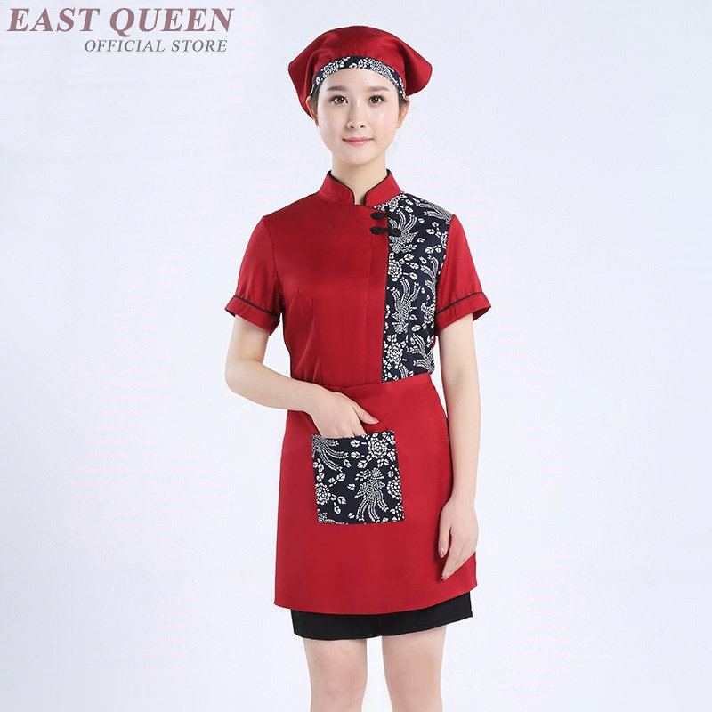 Chinese Restaurant Uniforms Catering Waiter And Waitress Uniforms Clothing Restaurant Waitress Uniforms For Waiters DD1077