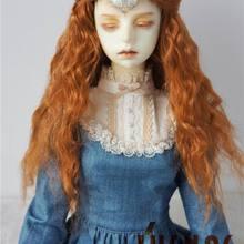 Синтетический мохер парик BJD куклы парик природа мальчишеская SD MSD кукла парики