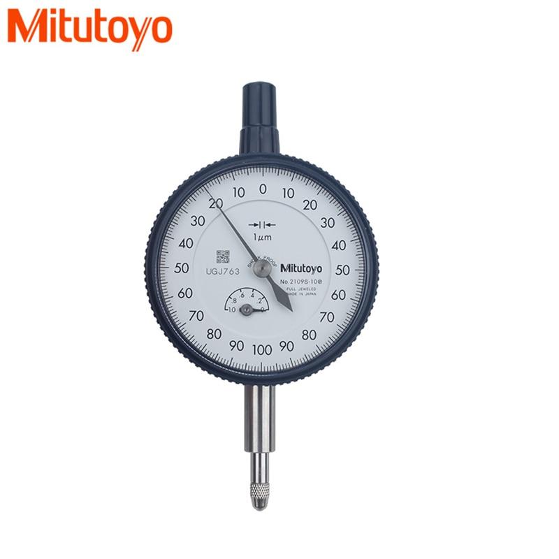 SHAHE 0-50mm 0.01mm Dial Indicator Metric Dial Gauge Analog Travel Indicator