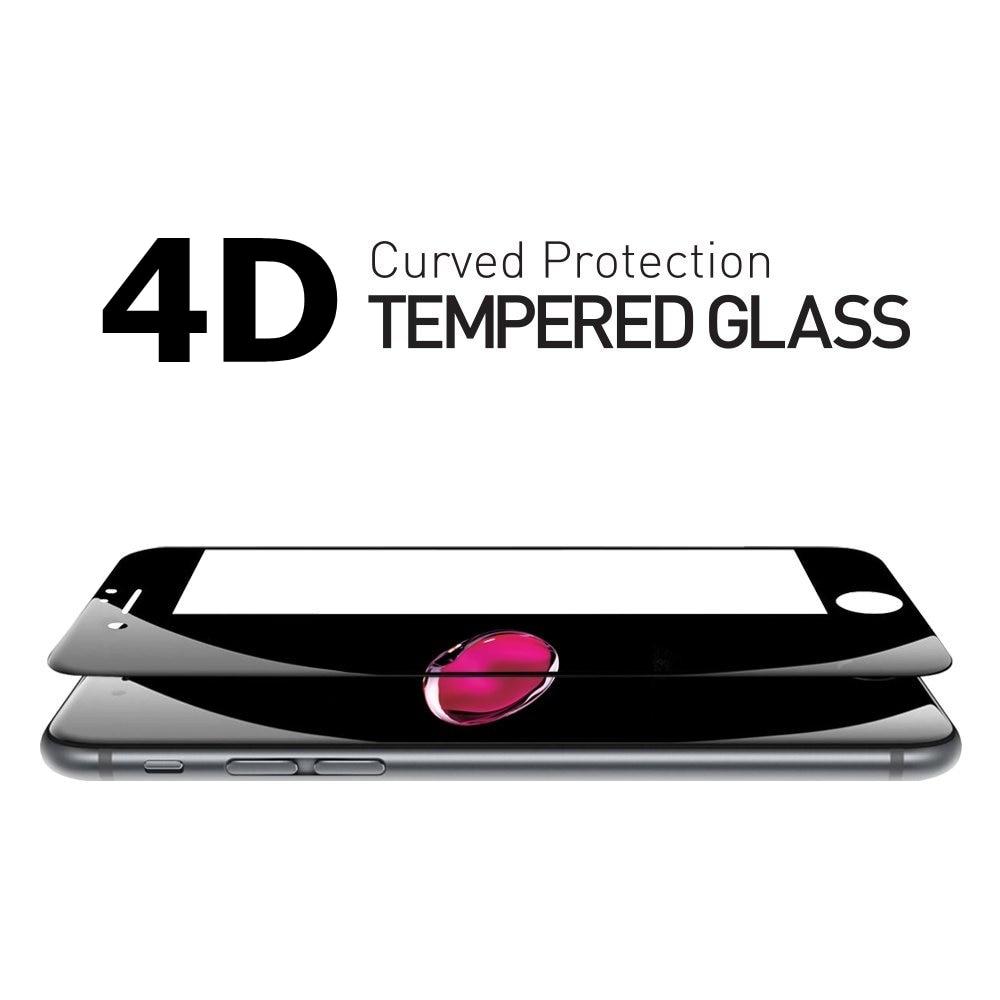 Real 4D Curved Full Cover Glass för iPhone 6 7 härdat glas - Reservdelar och tillbehör för mobiltelefoner - Foto 3