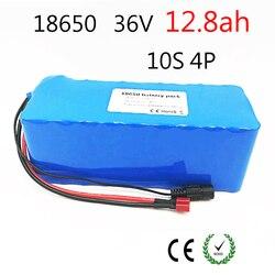 Batería eléctrica de la bicicleta Paquete de batería Li-Ion 18650 10 S 4 P 36 V 12ah 500 W de alta potencia y capacidad 42 V Scooter de motocicleta con BMS