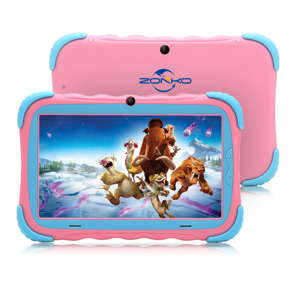 7 Inch Android 7.1 Kids Tablet 16GB Babypad Edition PC With Wifi And Camera GMS Certified Supported Kids-Proof Case