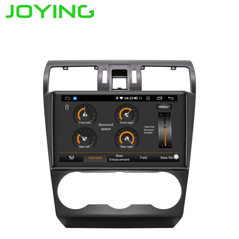 JOYING 9 2 5D IPS Android 8 1 Car Multimedia Player DSP for Subaru Forester XV