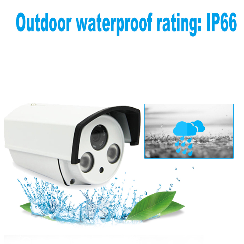 YUNSYE 2 8mm wide IP Camera 1080P 960P 720P ONVIF P2P Motion Detection RTSP email alert XMEye 48V POE Surveillance CCTV Outdoor in Surveillance Cameras from Security Protection