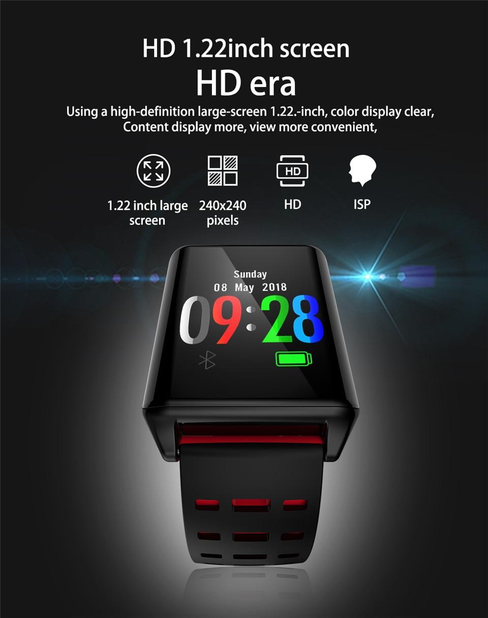 Shop Sport Smart Watch AK11 Heart Rate Monitor Watch Blood Pressure