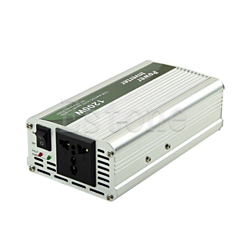1200W DC 12V bis AC 220V Auto Power Inverter Ladegerät Converter für Elektronische Neue