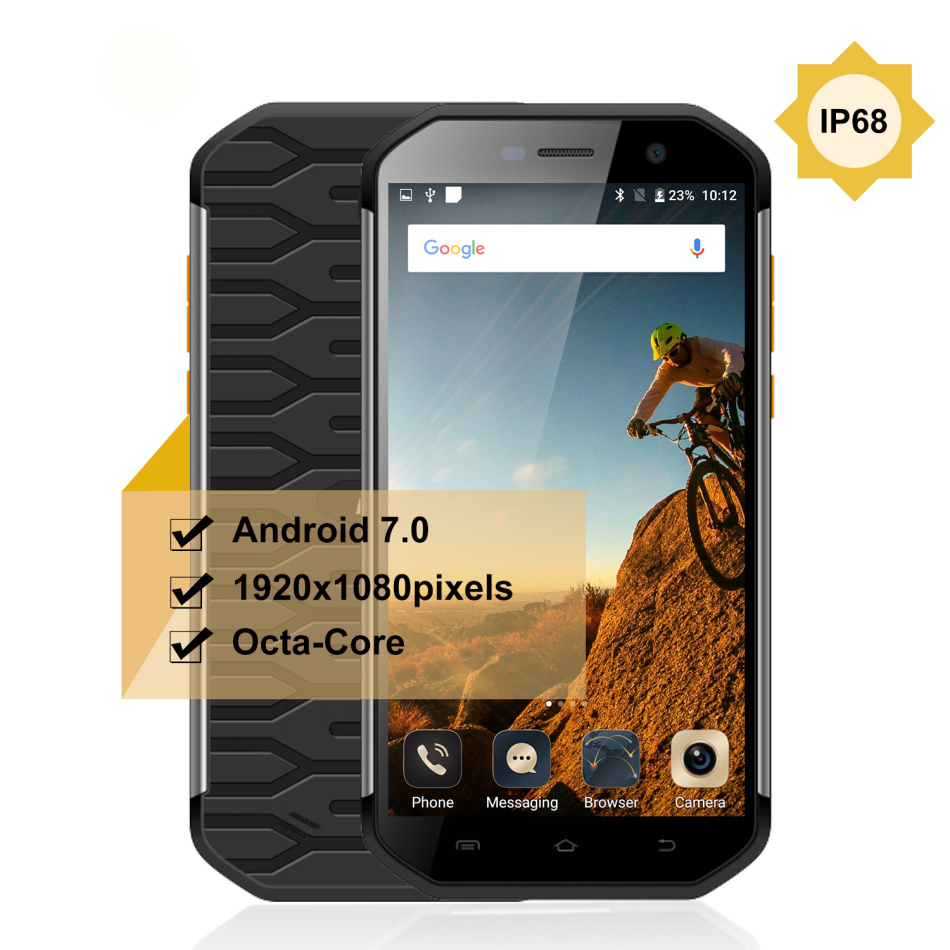 Téléphone portable robuste d'origine S60 5.5