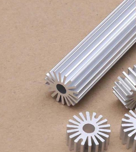 10pcs High quality LED lamp bead sunflower radiator 20*5*20mm round aluminum radiator circular aluminous profile custom for LED 10 50 meters pack 1m per piece led aluminum profile slim 1m with milky diffuse or clear cover for led strips