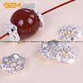 Spacer Craft Bead Caps Bright Tibetan Silver Bali Style Jewelry Findings 12mm Wholesale 20 Pcs/Bag GSP0030 Free Shipping
