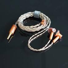Nova yinman 150ohm earbud fone de ouvido alta fidelidade 15.4mm driver dinâmico yinman flagship earbud com cabo