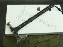 Free shipping outdoor camping Hammer dual axe durable mantis fire axe