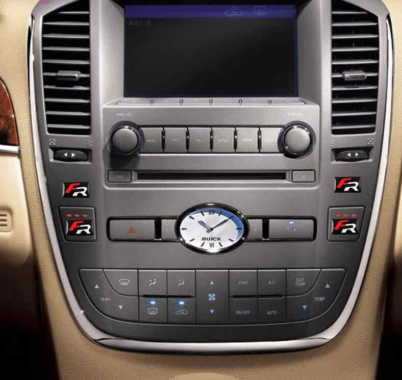 10 шт. автомобильный Стайлинг FR маленький декоративный значок ступицы крышки рулевого колеса для сиденья Leon 2 FR наклейка с эмблемой для автомобиля авто аксессуары