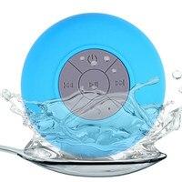 10 Pcs Lot Mini Portable Subwoofer Shower Waterproof Wireless Bluetooth Speaker Car Handsfree Receive Call