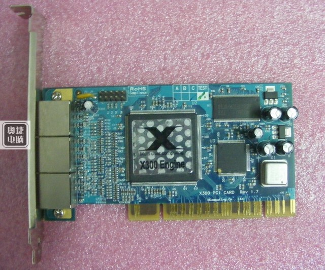 ФОТО X300 PCI 3*Port Card And Thin Client Cloud Terminal