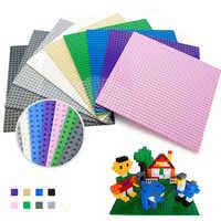 Straße Platte Gerade Kreuzung Kurve T-Junction-Kompatibel Legoings 10701 Marken Bausteine Bau Spielzeug