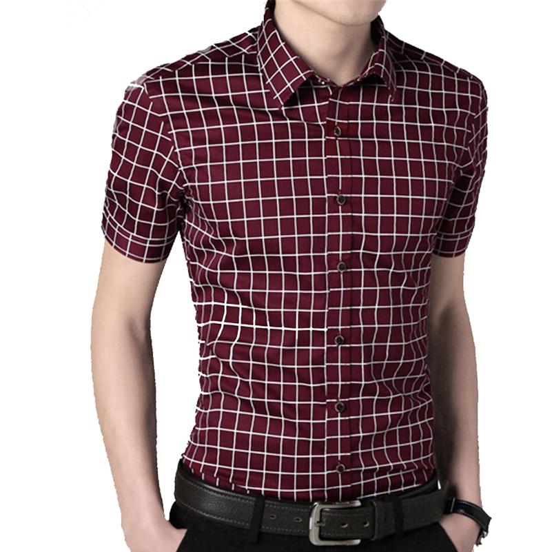 VISADA JAUNA Camisa de los hombres 2017 Verano Nueva Llegada de Moda - Ropa de hombre - foto 4