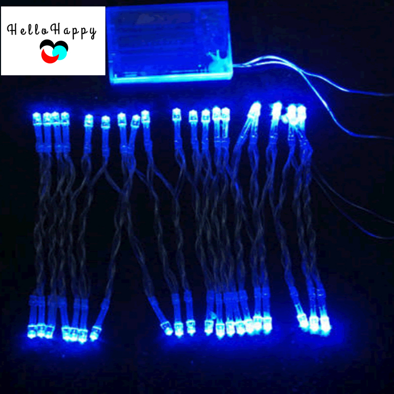 Christmas Lights 3M 30 LED Indoor Xmas Wedding Decoration Lighting String Outdoor Light Garland Chain Lamps Luminaria AA Battery