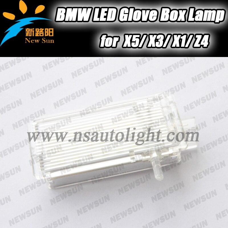 LED glove box light car indoor courtesy lamp for BMW E60 E46 E53 E81 E82 E83