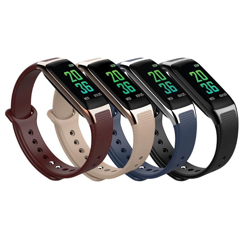 Message Reminder colorful screen Wristband Waterproof Outdoor Anti-Lost Pedometer Smart Bracelet with Remote control camera