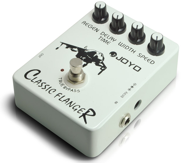 Joyo JF-07 Classic Flanger Guitar Effect Pedal with Free Pedal Case gramercy стол dressing table