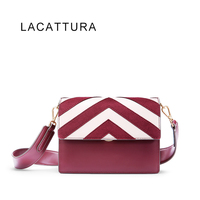 LACATTURA 2017 New Korea Famous Brand Women S Small Shoulder Bag High Quality All Match Retro