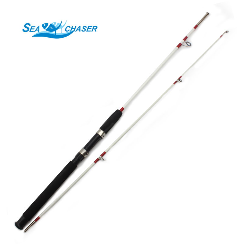 Promotion!Lure Rod 1.8M M Power 2 Section Casting Type Lure Fishing Rod 10-20LB lure weight 10-30g Travel Rod