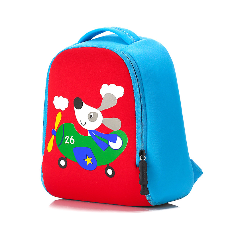 6660525ce054 BOSEVEV 3D Animal School Bags Children Backpacks Girl Boys Backpack Baby  Toddler Kids Neoprene Cute Kindergarten Cartoon Bag-in School Bags from  Luggage ...