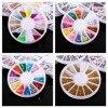 20 Boxes Set Glitter Acrylic DIY 3D Nail Art Rhinestone Decoration Nails Art Rhinestones Decorations Sticker
