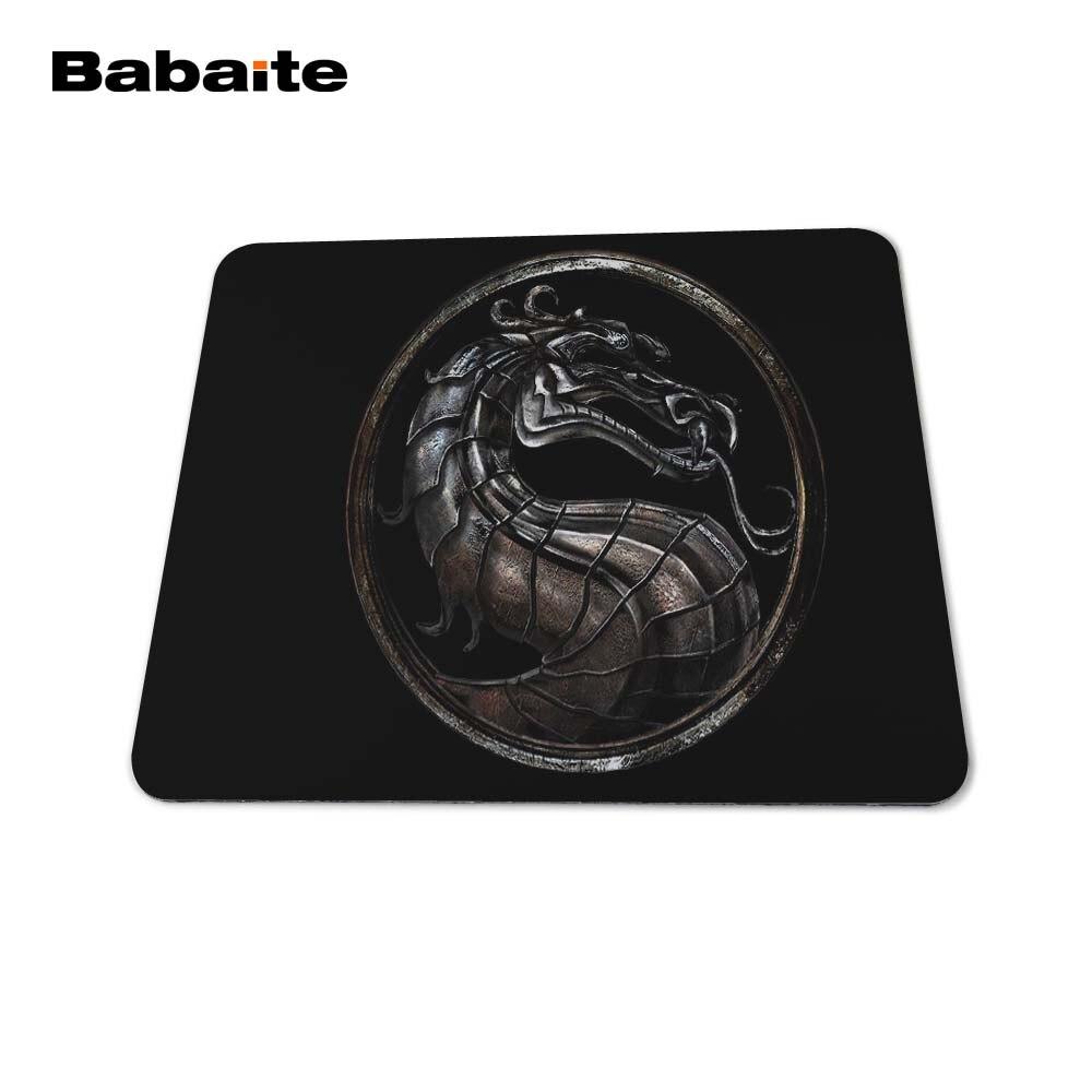 Babaite New 2017 Mortal Kombat Logo Mouse Pad Laptop - Համակարգչային արտաքին սարքեր - Լուսանկար 3
