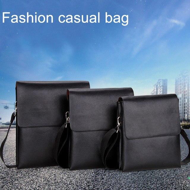 Men Shoulder Crossbody Bag Zipper Messenger Briefcase For Mobile Phone Business Best Sale-WT